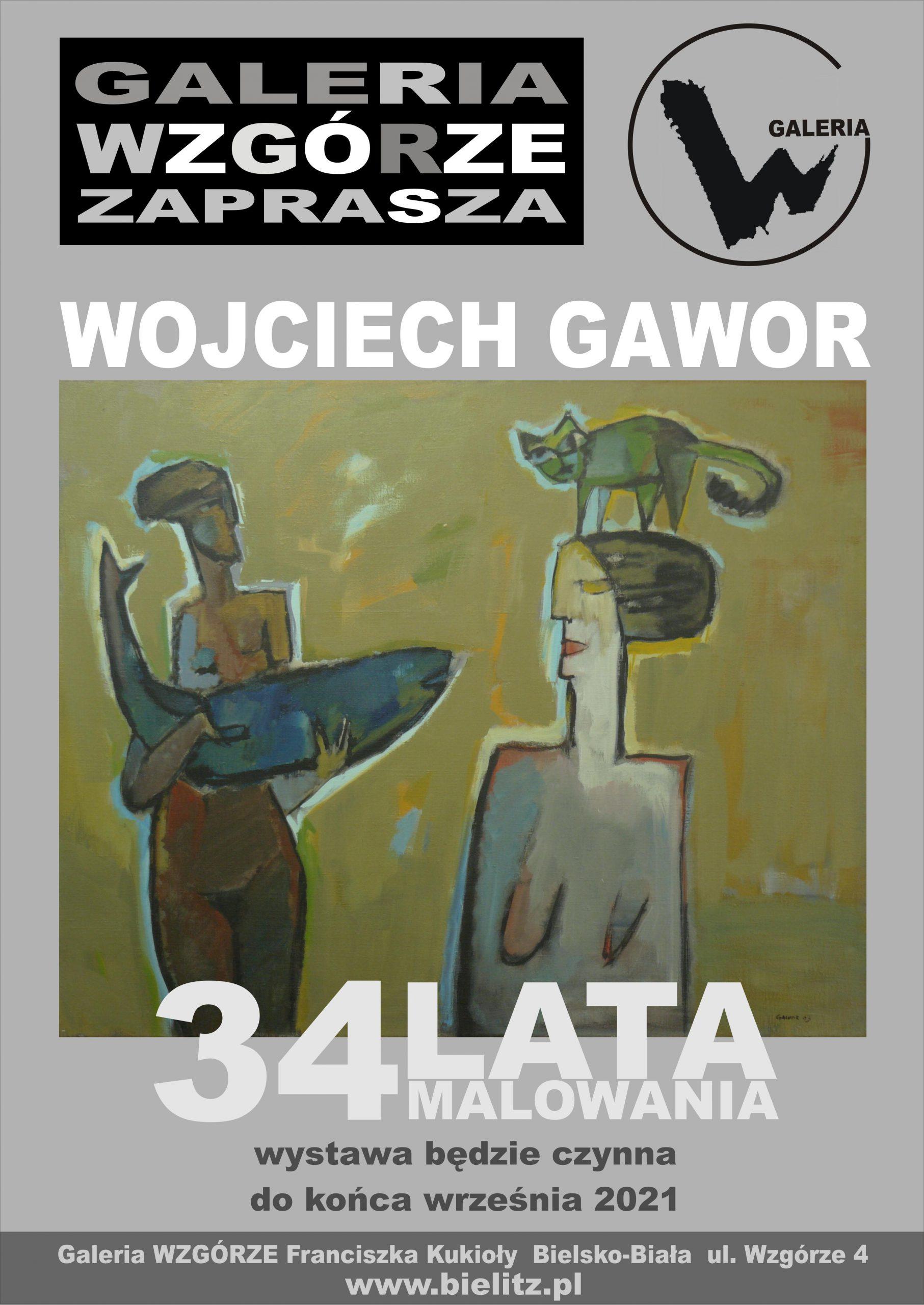 Wojciech Gawor 33 lata twórczości – wystawa